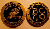 BC40 Challenge Coins